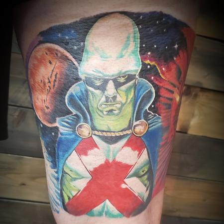 Tattoos - Martian Manhunter  - 142210