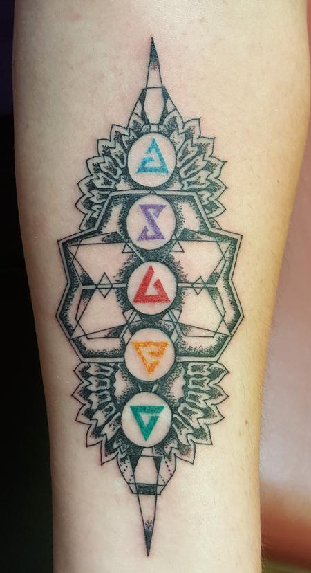 Tattoos - Geometric Witcher 3 Tattoo - 126622