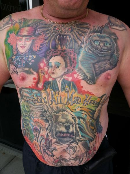 Tattoos - A mad life - 93915