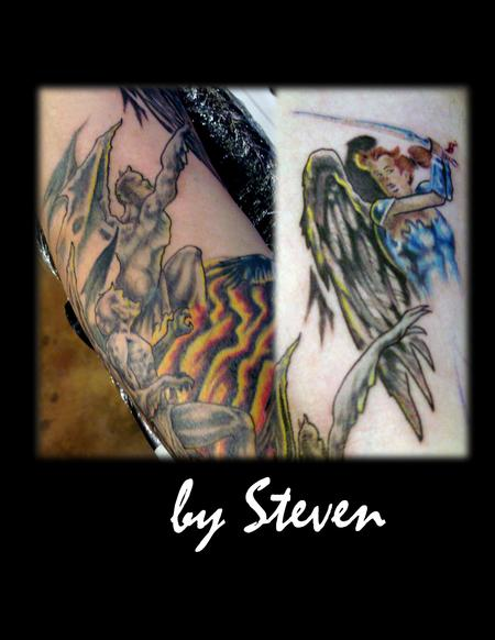 Steve Cornicelli - Angels and demons