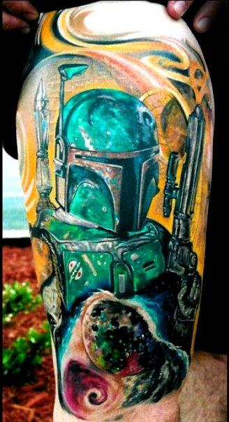 Tattoos - Boba Fett - 138374