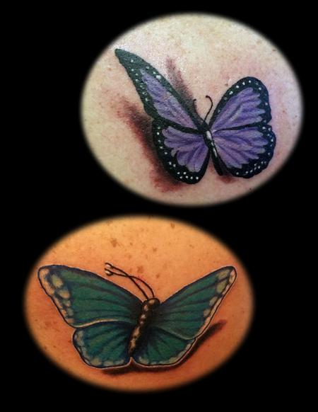 Steve Cornicelli - Butterfly duo