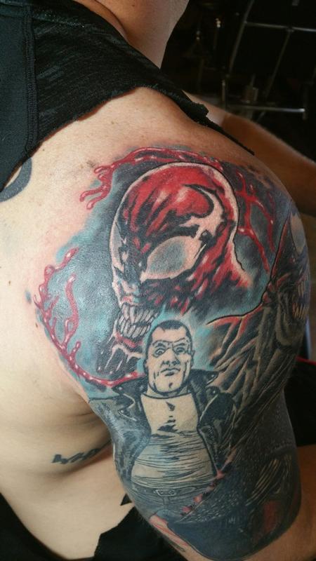 Tattoos - Carnage and Negan - 129183