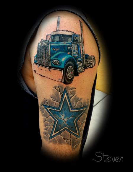 Tattoos - Dallas trucker - 125187