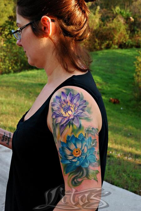 Tattoos - Zen Flowers - 99494