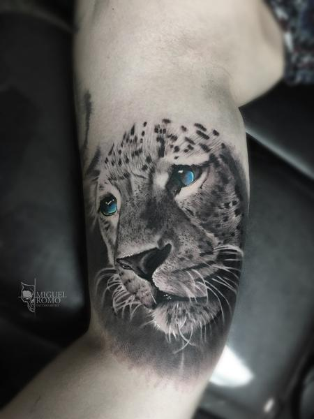 Miguel Angel Romo - Jaguar Tattoo