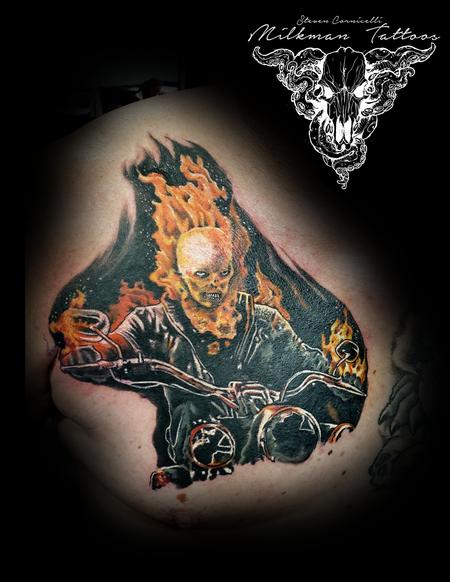 Tattoos - Ghost Rider - 141128