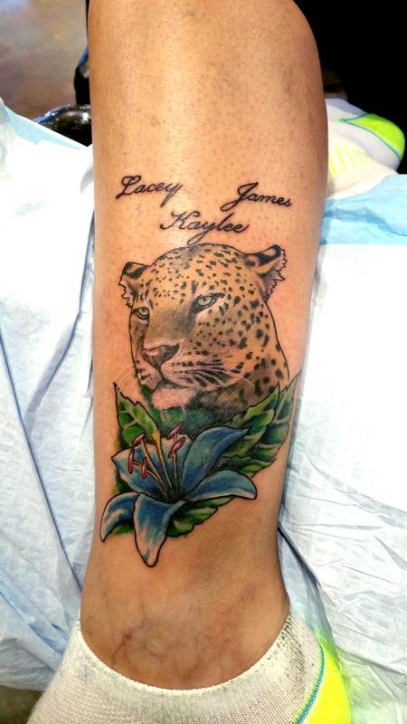 Tattoos - Leopard Lily - 104673