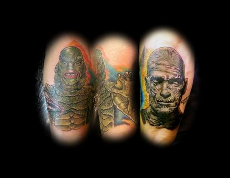 Tattoos - monsters - 125182