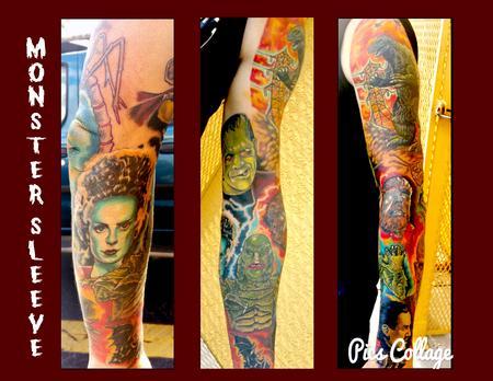Steve Cornicelli - Monster sleeve
