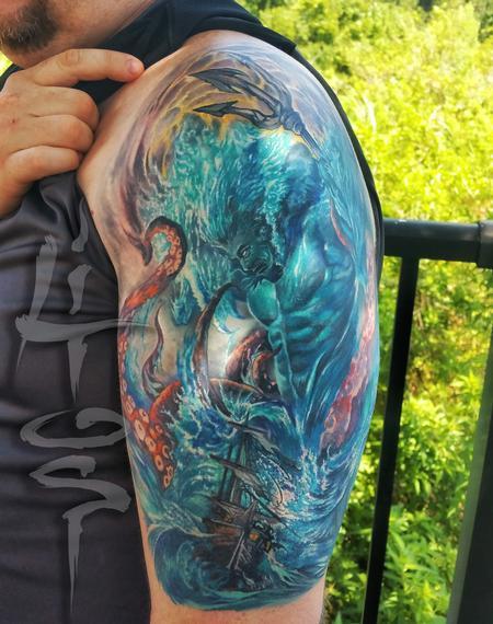 Tattoos - Poseidon - 119145