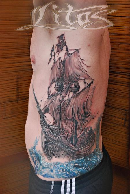 Tattoos - ShipRib - 95921