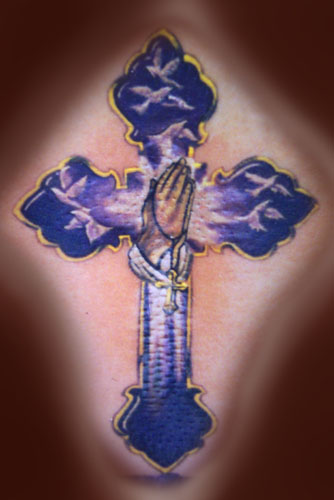Tattoos - HOLY CROSS !! - 21568