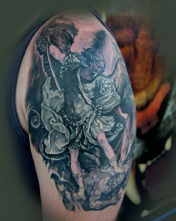 Tattoos - ST MICHAEL ! - 26530