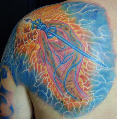 Tattoos - artist hand - 60000