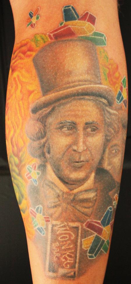 Tattoos - willy wonka - 69893