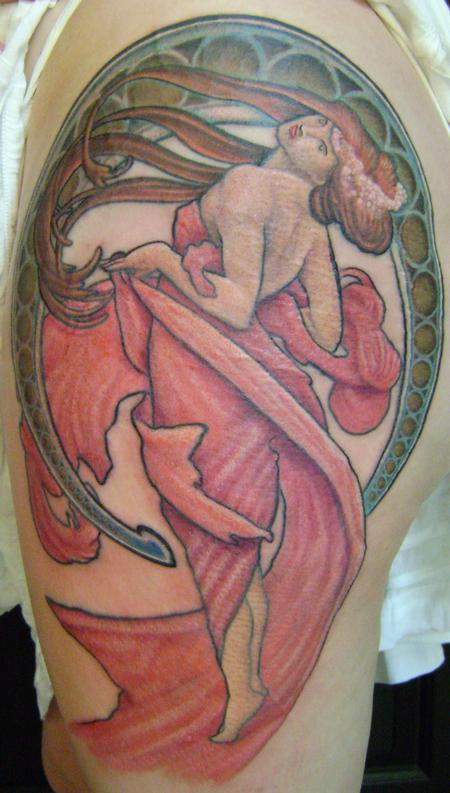 Tattoos - nouveau dance - 60009