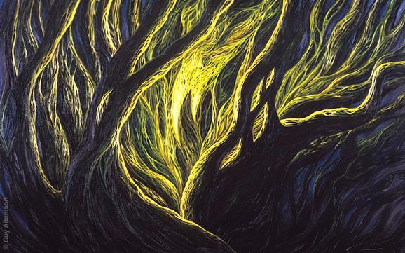 Guy Aitchison - Mind Tree 3, 1994