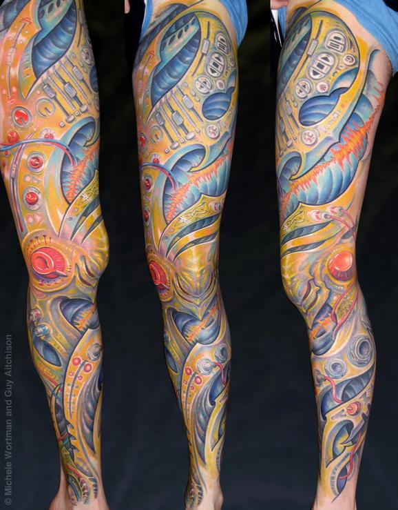 Tattoos - Peter, Collaboration by Michele Wortman and Guy Aitchison - 72426