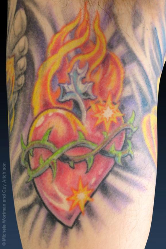 Tattoos - Jon, Collaboration by Michele Wortman and Guy Aitchison - 72427
