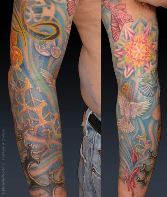Tattoos - Jay, Collaboration by Michele Wortman and Guy Aitchison - 72428