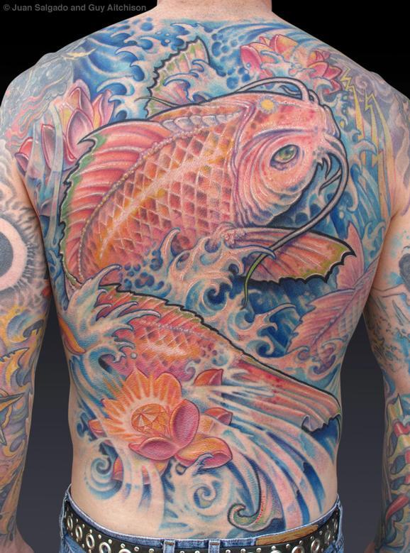 Tattoos - John, Collaboration by Juan Salgado and Guy Aitchison - 72431