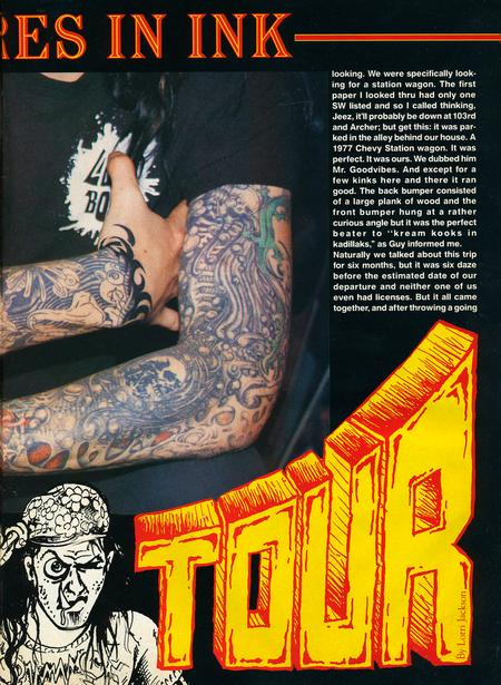 - Tattoo Revue Magazine, 1990 - Page 2
