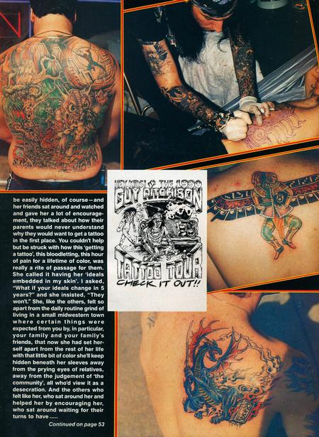 - Tattoo Revue Magazine, 1990 - Page 5