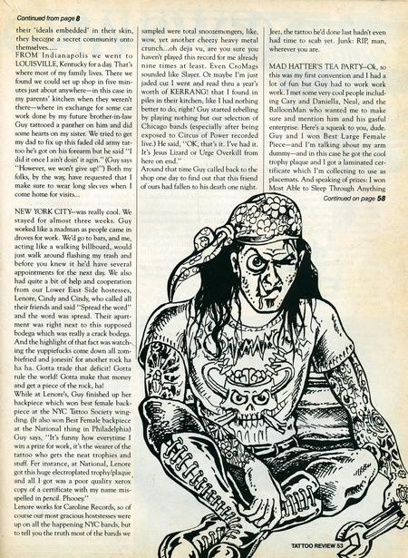 - Tattoo Revue Magazine, 1990 - Page 6