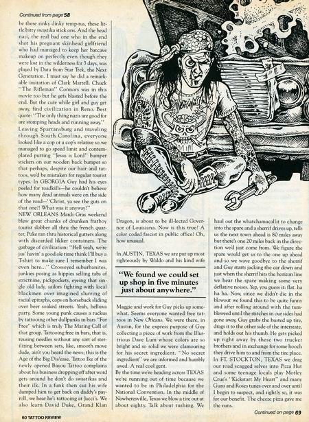 - Tattoo Revue Magazine, 1990 - Page 8