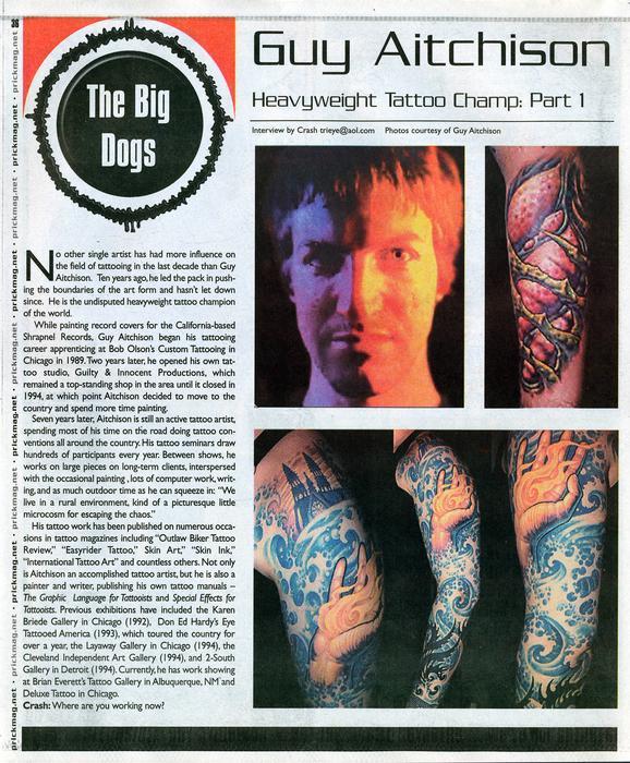 - Prick Magazine, 2001, Page 1