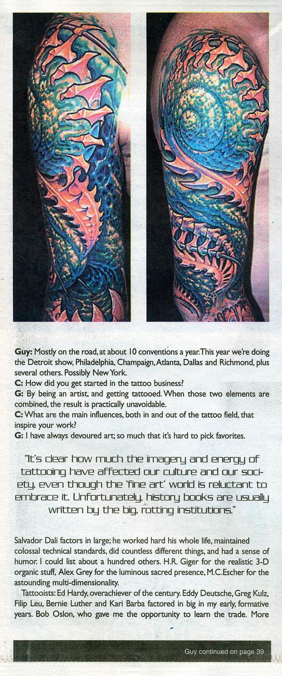 - Prick Magazine, 2001, Page 2