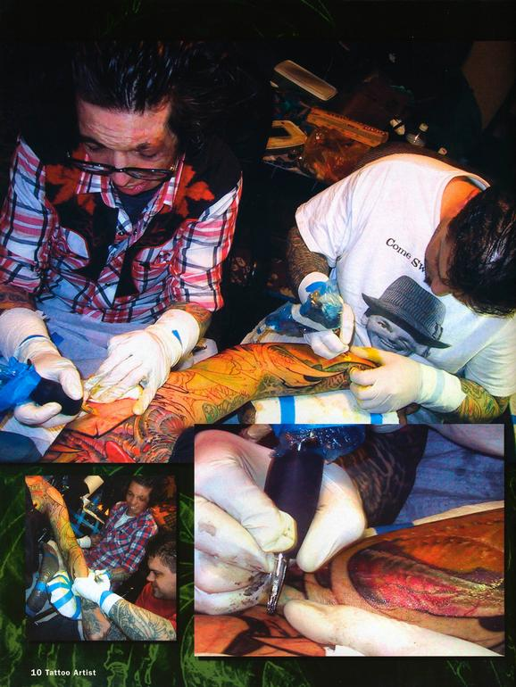 - Tattoo Artist Mag feature, 2003, Page 5