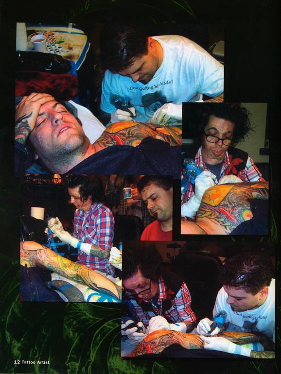 - Tattoo Artist Mag feature, 2003, Page 7