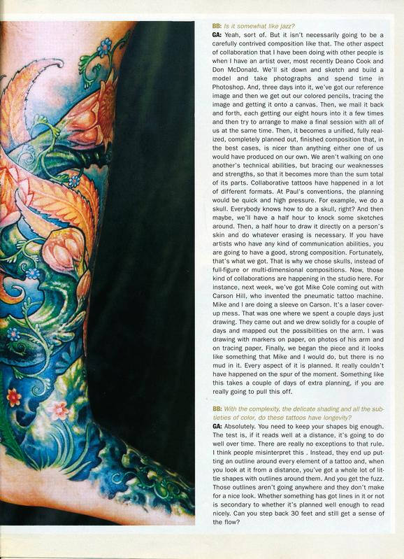 - Skin & Ink feature, 2006, Page 11