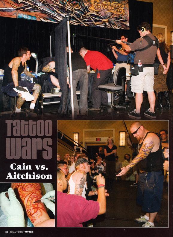 - Tattoo Wars - Tattoo Mag, 2008, Page 3