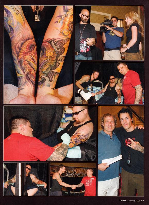 - Tattoo Wars - Tattoo Mag, 2008, Page 4