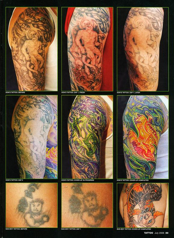 - Laser Article, Tattoo Mag, 2006, Page 4