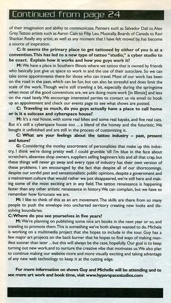 - Aitchison/Wortman, Prick Magazine, 2003, Page 4