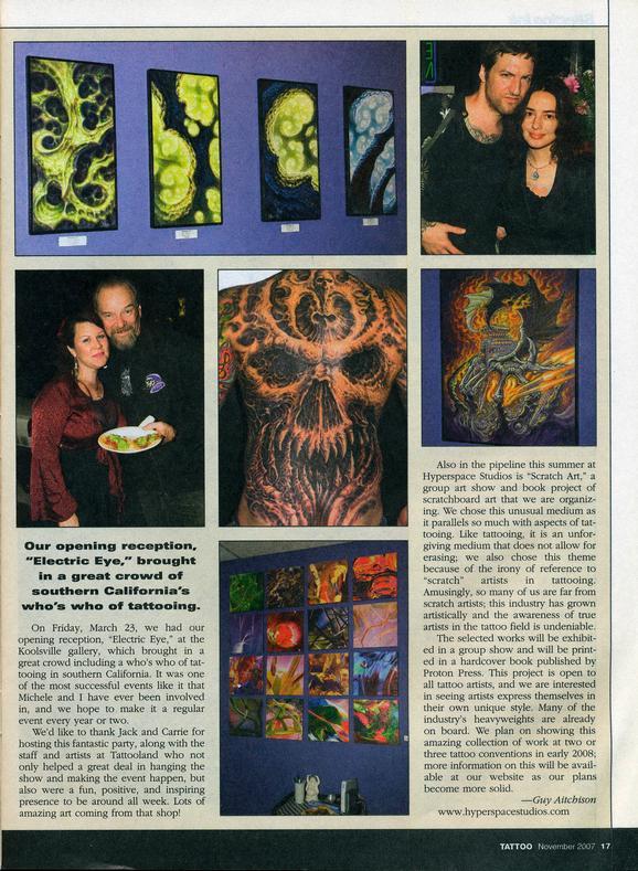 - Tattoo Magazine, 2007, Page 2