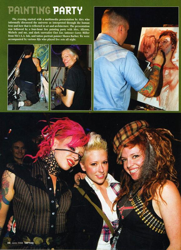 - Tattoo magazine, 2008, Page 3