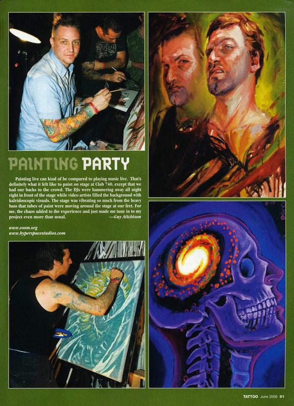 - Tattoo Magazine, 2008, Page 6