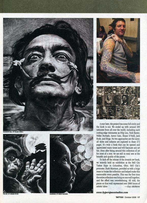 - Scratch Art, Tattoo Mag, 2008, Page 2