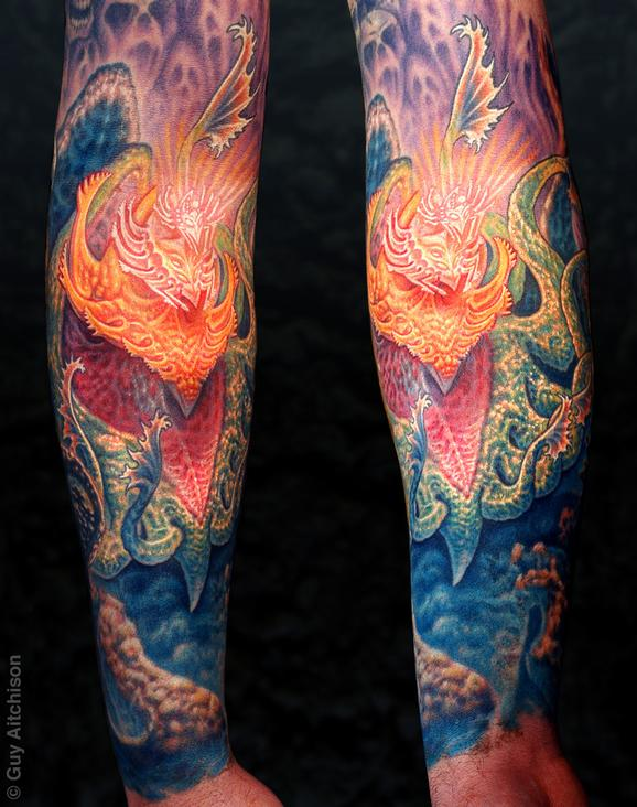 Guy Aitchison - Jeff, mind tree forearm