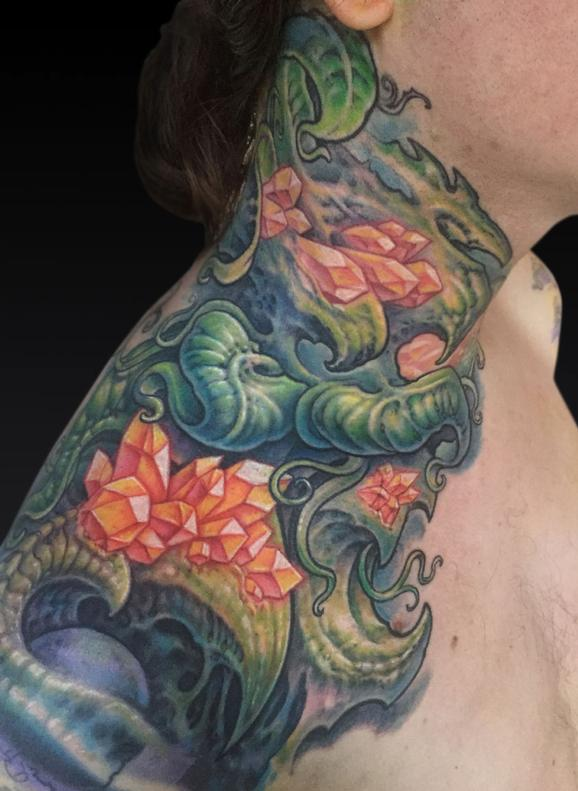 Tattoos - Barton Neck - 122008