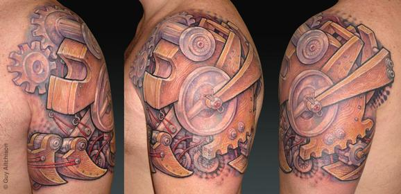 Tattoos - Bart, ply-mech - 72546