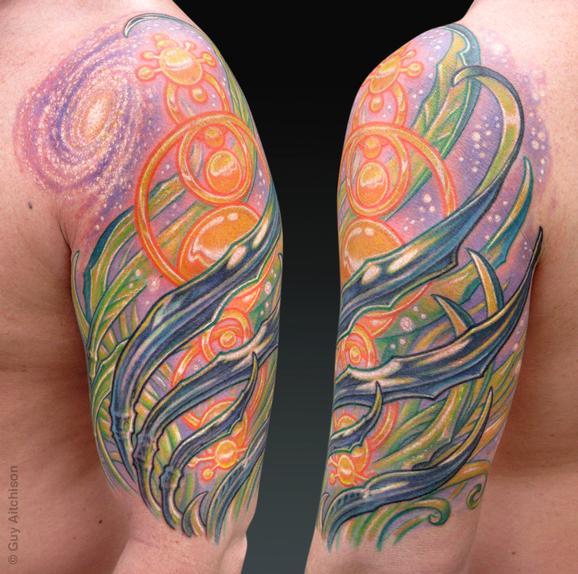 Tattoos - Jason, crop circle abstraction - 72548