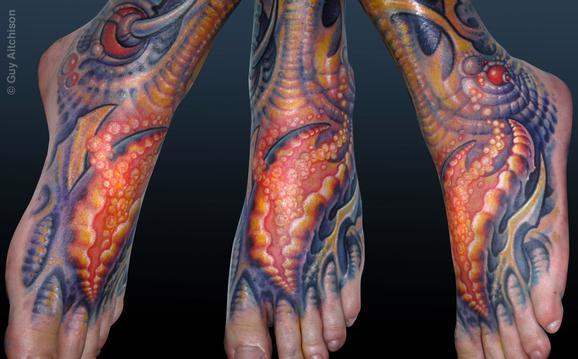 Tattoos -  Scott, footpod - 72549