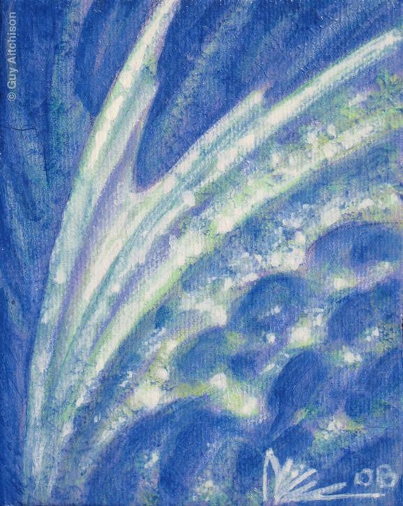 Guy Aitchison - BlueSpace2, 2008