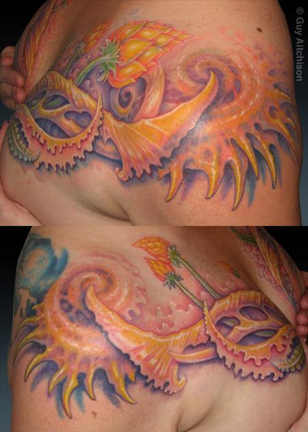 Guy Aitchison - Suzanne, finished coverup